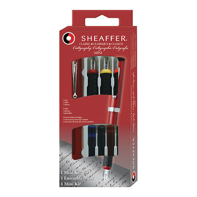 Sheaffer Calligraphy Fountain Pen Introductory Kit, 1.0 - 1.5 - 2.0 mm Nibs