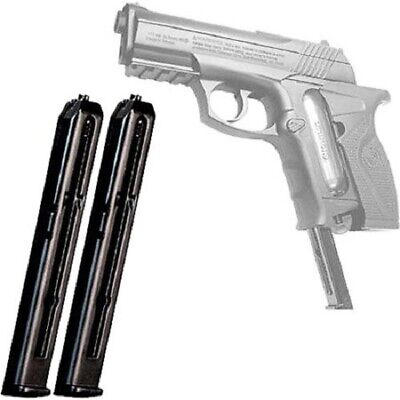 Load Extra BB Gun Clips C11 /& TACC11 BB Air Pistols 2 Pk Spare Clips For P10
