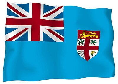 Aufkleber Auto Sticker tuning motorrad Autoaufkleber Fahne Flagge fiji fidschis