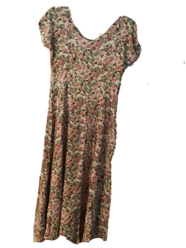 All That Jazz Women Floral Vintage Dress With Shou