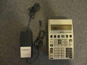 VINTAGE USAF COMPUCORP SCIENTIST 320G MICRO-COMPUTER CALCULATOR - PARTS/REPAIR