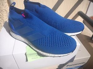 timeless design 1e512 8434c Image is loading Adidas-ACE-17-Purecontrol-Ultra-Boost-Blue-BY9090-