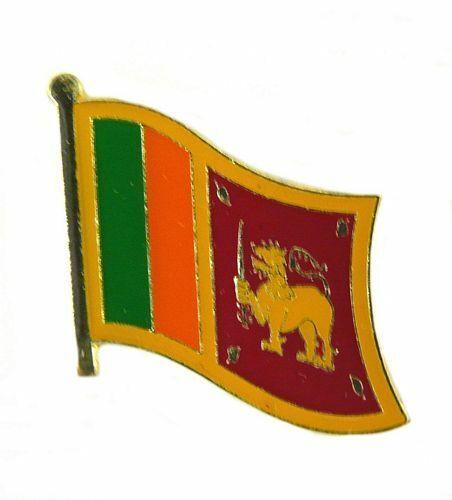 Flaggen Pin Fahne Sri Lanka Anstecknadel Flagge