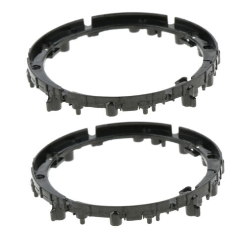 2PC Lens Bayonet Mount Rings Replacement Units for Sony SELP 16-50mm E Black