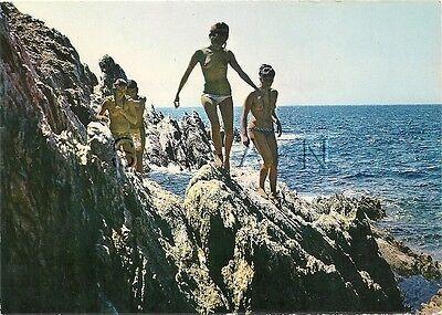 Org 60s French Nude Risque PC- Naturisme- Ile Du Levant