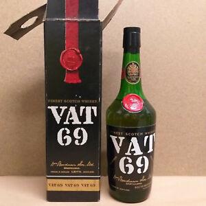 Vat-69-Whisky-ca-1970er-Jahre-43-Alkohol-Epikur-Import-Originalverpackung