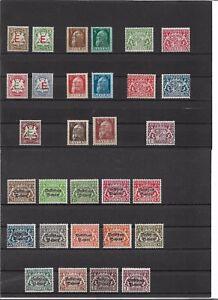 Bayern-Dienstmarken-komplette-Saetze-aus-Michelnrn-1-61-postfrisch
