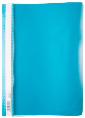 Farbe türkis PP 10 Schnellhefter DIN A4 extra stark