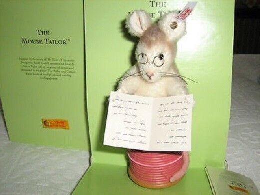 Steiff Mouse Tailor Beatrix Potter SERIE LTD ED IN SCATOLA NUOVO RARO 354236