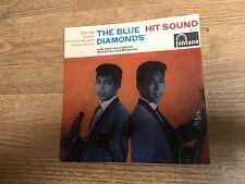 Holland EP The Blue Diamonds Hit sound Little ship Jealousy Carmen my love 1962