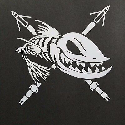 Fish On Vinyl Decal for laptop windows wall car boat