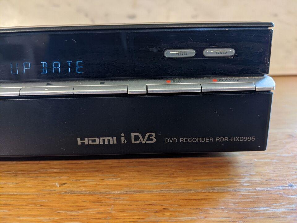 Harddiskafspiller, Sony, Rdr hxd 995