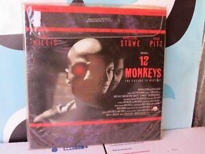 12 Monkeys Laserdisc Movie Bruce Willis Brad Pitt NOT DVD | eBay