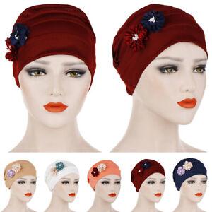 11pcs femmes musulman turban chapeau doux chimio cancer cap chapeau foulard