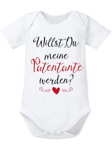 Details Zu Willst Du Meine Patentante Werden Baby Body Bio Perfekt Zur Taufe