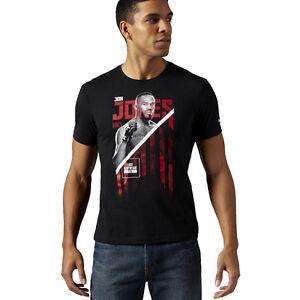Image is loading Reebok-UFC-Jon-Bones-Jones-Fighter-Tee-Men-