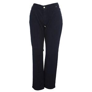 MARINA-RINALDI-Women-039-s-Dark-Wash-Wonder-Fit-Jeans-240-NWT