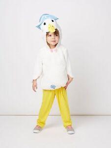 BNWT-PETER-Coniglio-Jemima-Puddle-Duck-Costume-2-3-3-4-anni