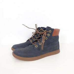 Details zu TIMBERLAND Boots Stiefelette Schnürschuhe Kinder Blau Navy Gr. EUR 39 UK 5,5