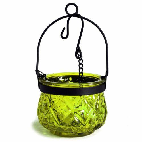 Hänge-Teelichthalter ORIENTAL grün in marokkanischem Stil Hängen /& Stellen