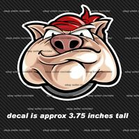 Hog Sticker Decal For Chopper Bagger And Bobber Bikes