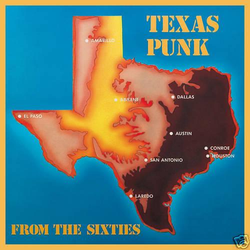 TEXAS PUNK FROM THE 60'- (CD) VINYL REPLICA