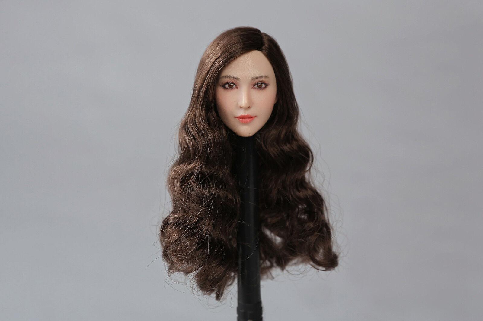 Peak Toys 1 6 Scale Asian beauty star headsculpt PT003