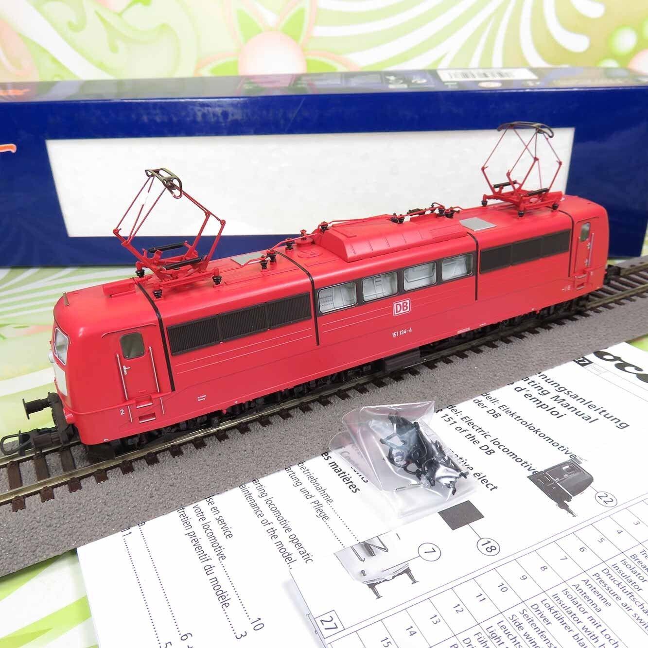 ROCO 62527 - H0 - DB - E-Lok 151 134-4 - m. DSS - OVP -  W10754