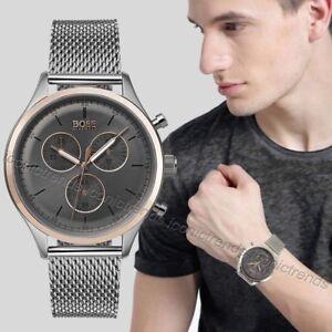 f2bc6e5b1dcb Reloj cronógrafo nuevo con etiquetas 🎱 Hugo Boss 1513549 para ...