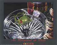 Michael Godard-no Lifeguard On Duty Martini-olive-swimming-las Vegas-poster