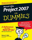 Microsoft Office Project 2007 For Dummies by Nancy C. Muir (Paperback, 2007)