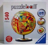 Ravensburger Puzzle Puzzleball illusions 540 Pcs Complete 9 22cm Other