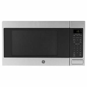 GE 1150 Watt Countertop Microwave Oven, Stainless Steel (Refurbished) (Open Box)
