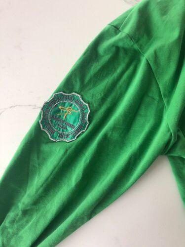 con manga larga Xl Camisa Nwt gris 98 verde bordado Tamaño Mondo de wqxfIzInaZ