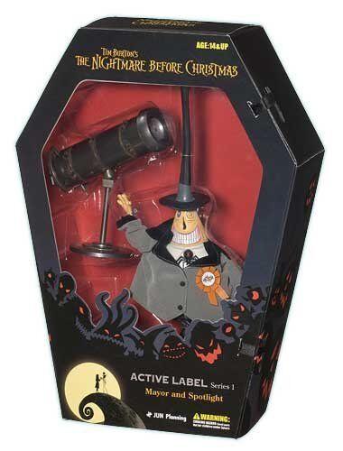 Mayor & Spotlight - Nightmare Before Christmas Active Label Figure