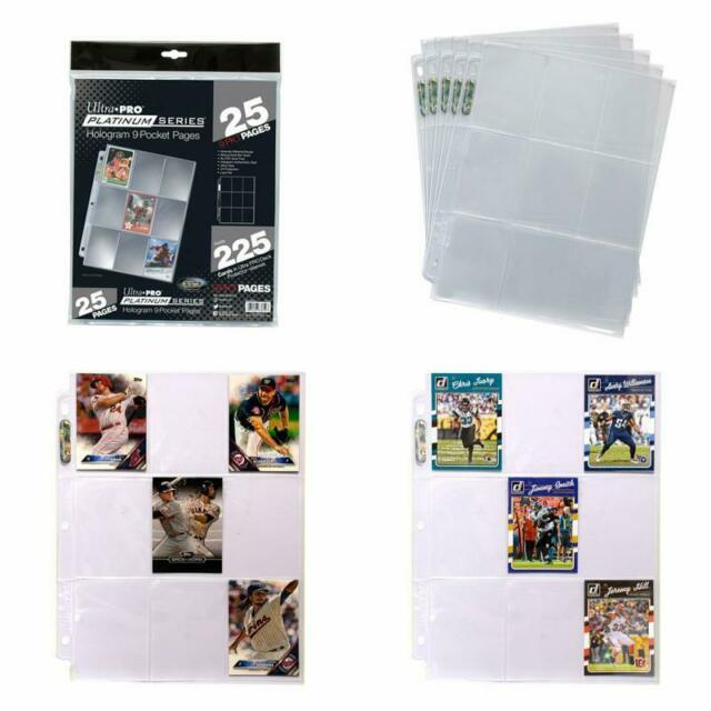 Sport Cards Coupon Pages For Pokemon Trading Cards Pokemon Card Holder Binder 9 Pocket Album Pages Storage For 3 Ring Sheets 25 Pages Baseball Card Sleeves Protectors Trading Card Sleeves Pages Pinnacleoilandgas Com