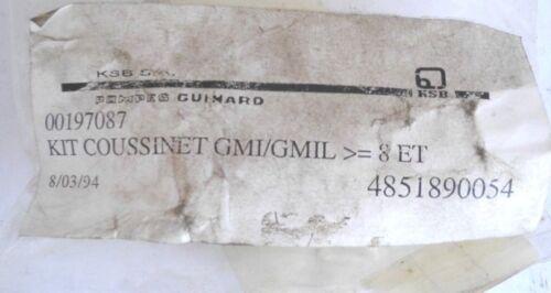 KSB pieza de repuesto 00197087-rodamientos normales con vaina rodamient m-gv 610+612+1110+ 1+ gmi Gmil