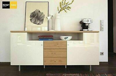 Sideboard Now Time By Hulsta 190 Cm Eiche Natur Nussbaum Lack Weiss Neu Ovp Ebay