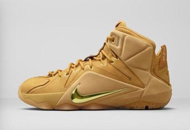 Nike Lebron 12 EXT Wheat size 8