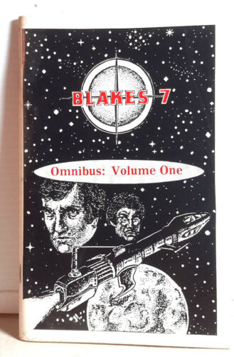 1980s Blake's Seven Omnibus Vol 1 Fanzine 4 Short Stories 82 Pages UNREAD
