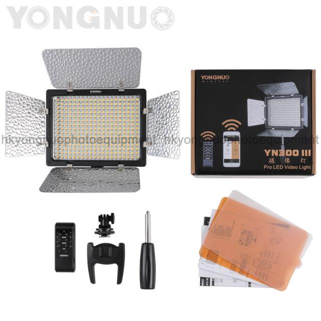 Yongnuo YN300 III LED Video Light 5500k for Canon Nikon Olympus Pentax Camcorder