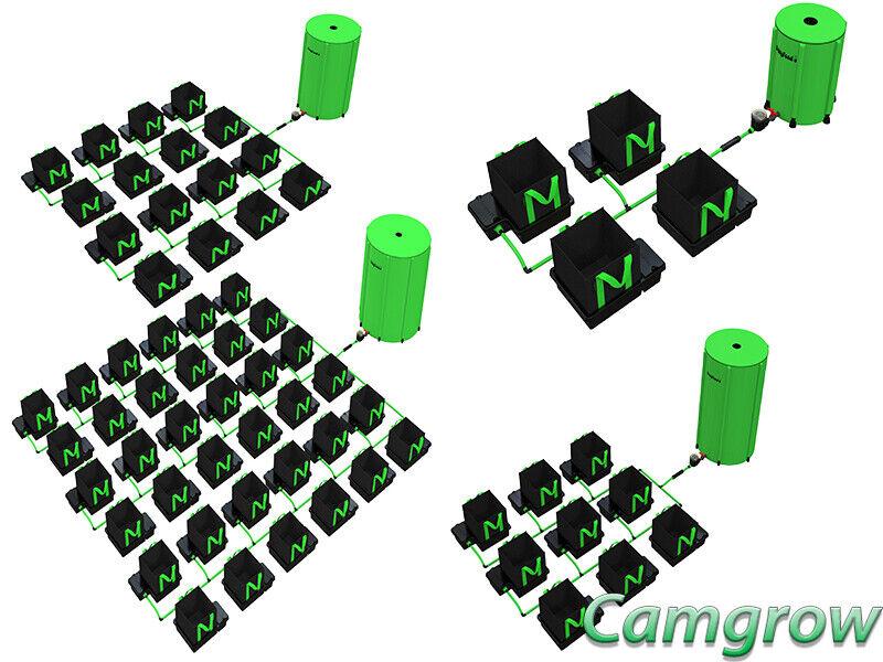 Alien-easyfeed XL 22L - 4, 6, 8, 9, 12, 16, 24, 36 & 48 Olla sistemas hidropónicos