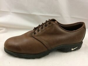 0025fbbdcc65f Nike Golf Zoom Air Wickie Last 970810 Y3 Brown Leather PGA Golf ...