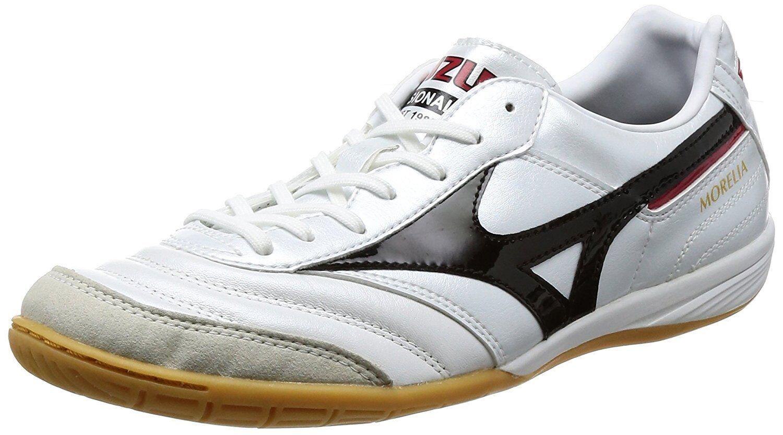 Zapatos DE FUTSAL FÚTBOL FÚTBOL Mizuno Morelia en Q1GA1700 blancoo US5 (23 Cm)