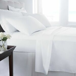 Linens Factory 820 Thread Count King - Sheet Set White