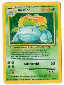 Pokemon Card BISAFLOR 15/102 BASE BASE GERMAN Holo DG