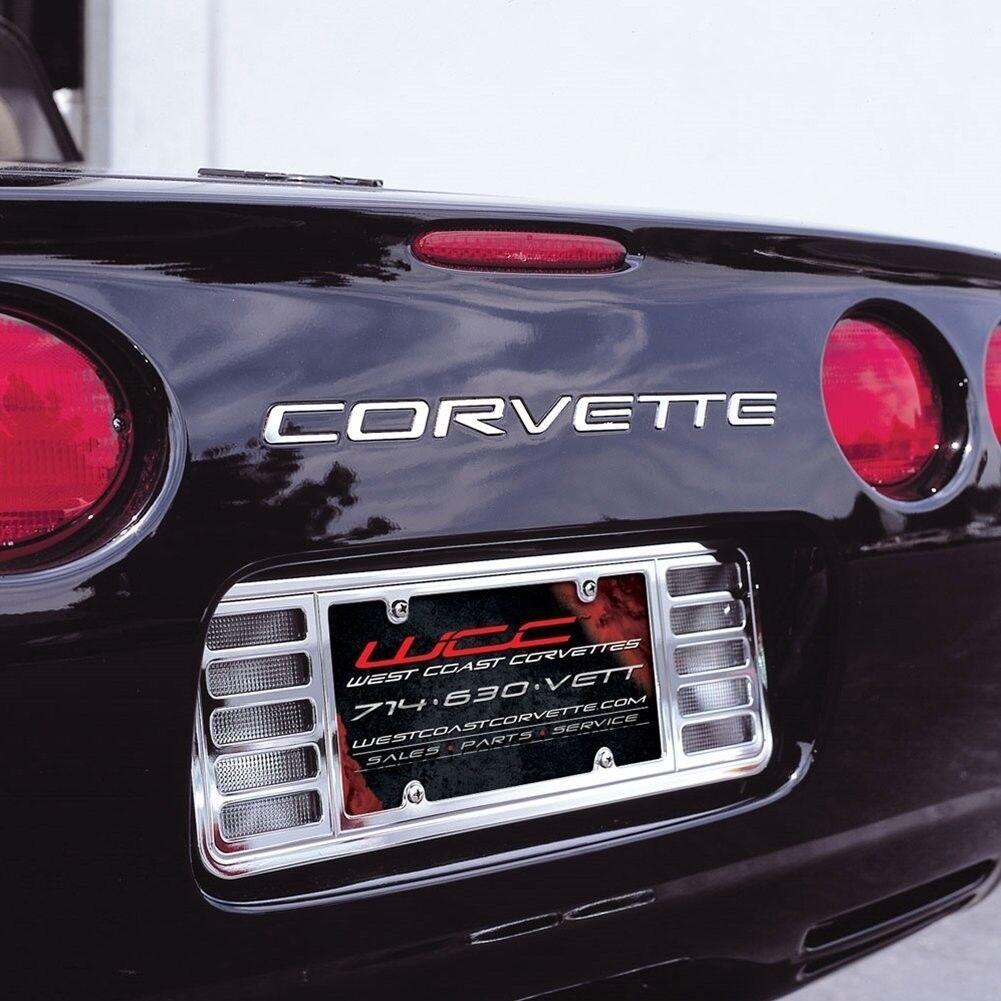 West Coast Corvette >> West Coast Corvette C5 Rear Stainless Steel Inserts Letters