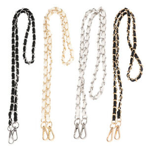 Metal Chain Strap Replacement DIY Purse Chain Strap for Shoulder Cross Body Bag