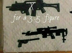"Marvel Legends Infinity War Winter Soldier/'s /""Rifle/"" Weapon For 6/"" Custom Fodder"