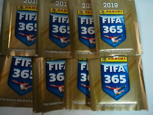 Lot-8-pouches-panini-fifa-365-2019-version-francaise-french-version